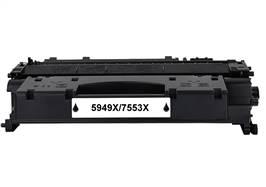 Kompatibilní toner HP Q5949X / HP Q7553X / Canon CRG-708H/CRG-715 - 100% NEW - 7000 stran