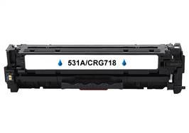 Kompatibilní   toner HP CC531A / Canon CRG-718 C- 100% NEW - 2800 stran