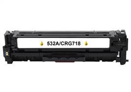 Kompatibilní   toner HP CC532A / Canon CRG-718 Y- 100% NEW - 2800 stran