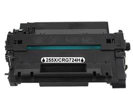 Kompatibilní  toner s HP CE255X / Canon CRG-724H - NEW - 12500 stran